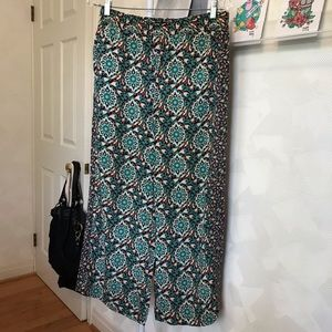 Anthropologie SILKY Palazzo Pants by LILKA - S
